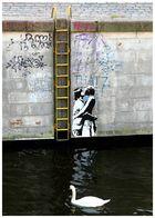 Kuss an der Kottbusser Brücke