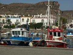 Kutter in Puerto de Mogan