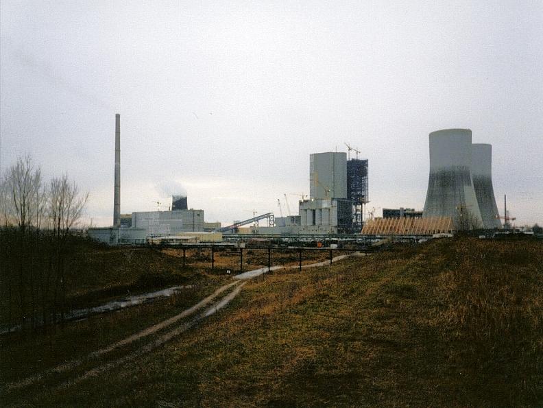 KW Lippendorf im Bau