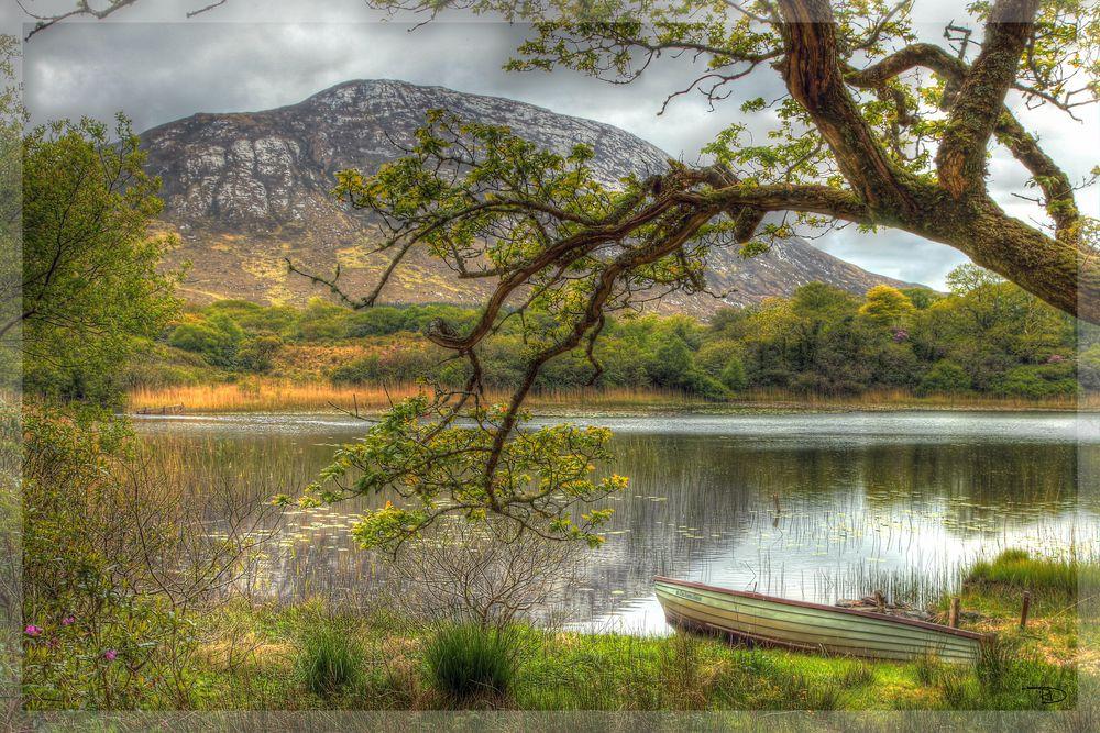 Kylemore Abbey Parc Irland