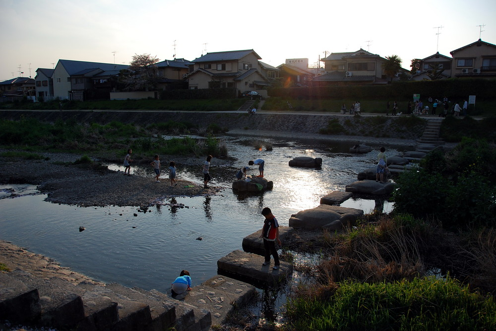Kyoto - Takano-Gawa river
