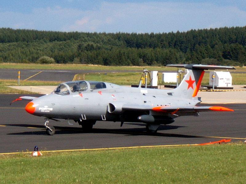 """L-29 """"Delfin"""" von Walter Eichhorn"""