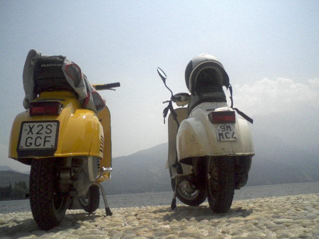 L' Amichetta:...amici in motoretta...