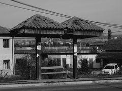 l' arrêt de bus