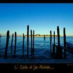 L' isola di San Michele...