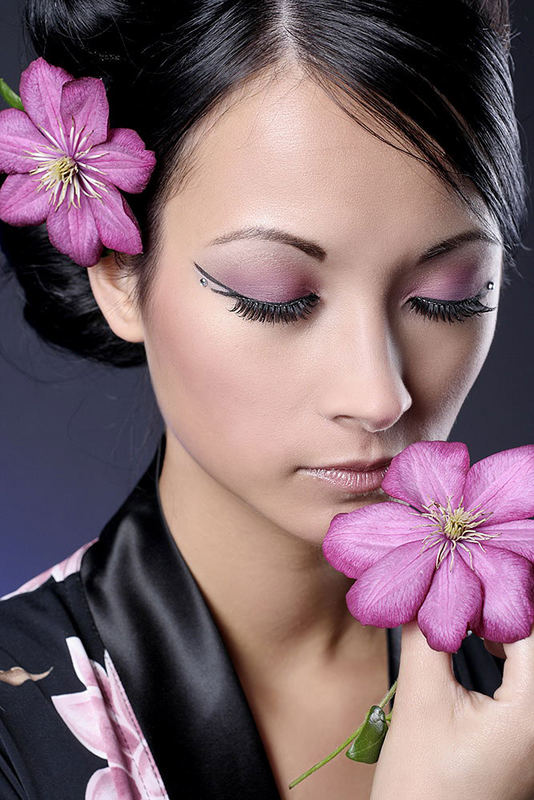 L` odeur de la fleur