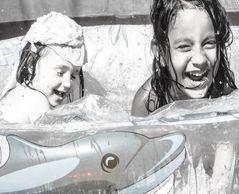 La alegría del agua