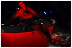 La baignoire Rouge