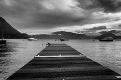 La banchina dei canottieri di Caldè