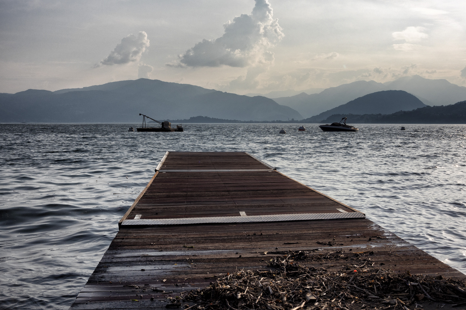 La banchina dei canottieri