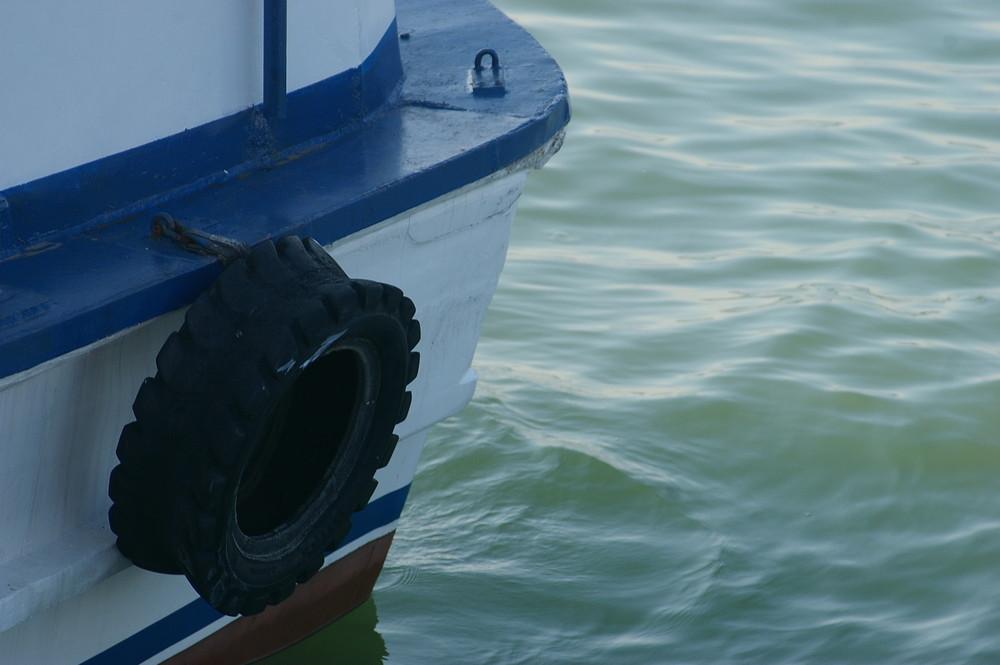 la barca blu