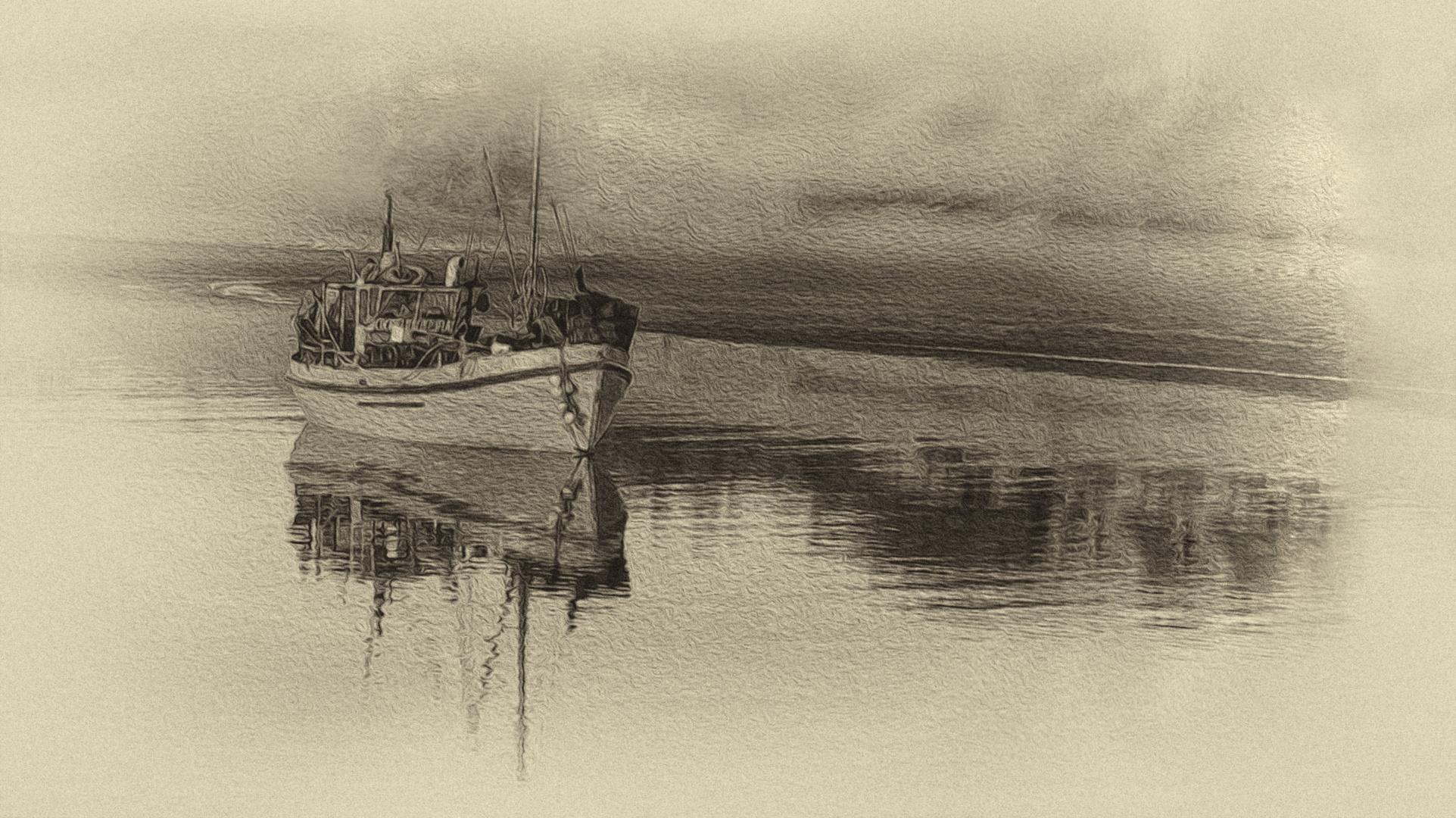 La barca de pesca