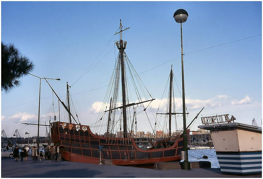 La barca di Colombo.