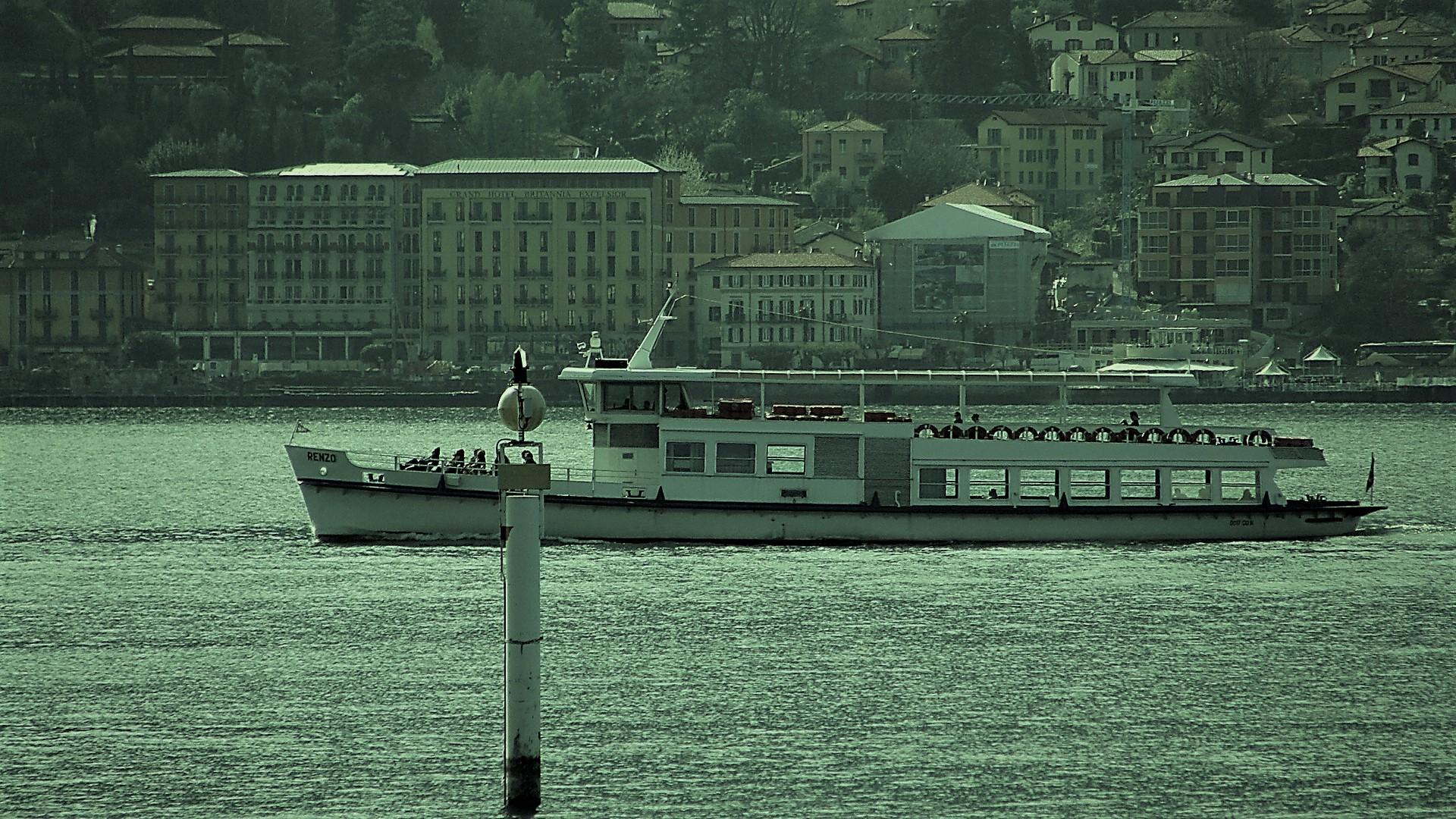 la barca va.......