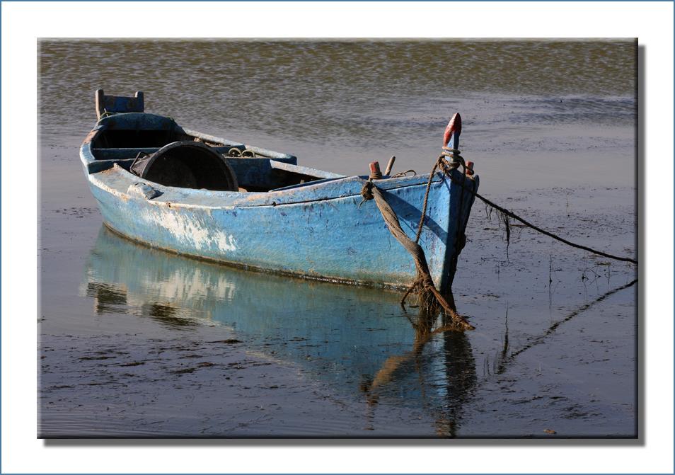 La barque bleue.