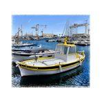 La barque jaune