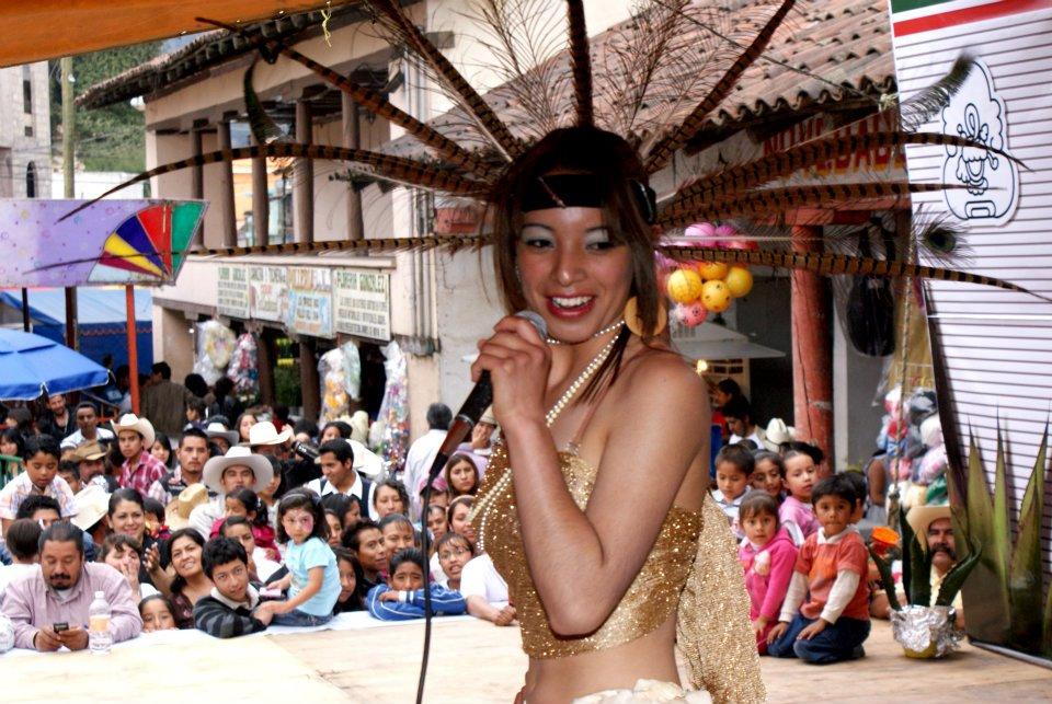 La Bellisima Candidata de la Expo Feria del pulque Jiqupilco 2012