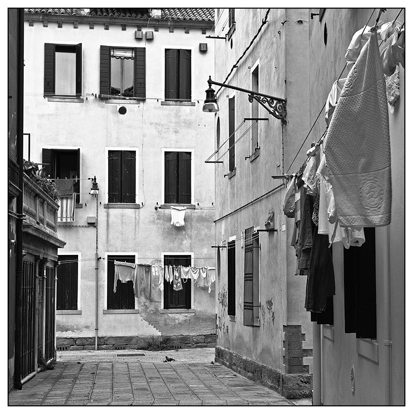 la biancheria // die Wäsche