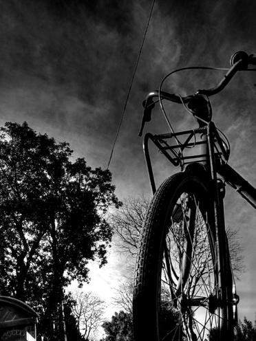 la bici di un tempo
