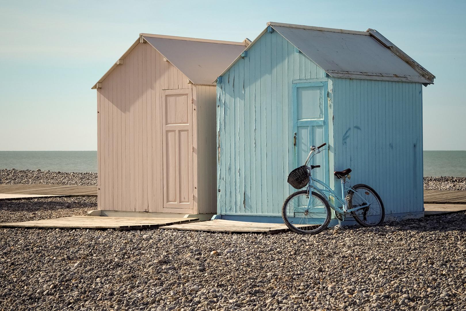 La bicyclette bleue.