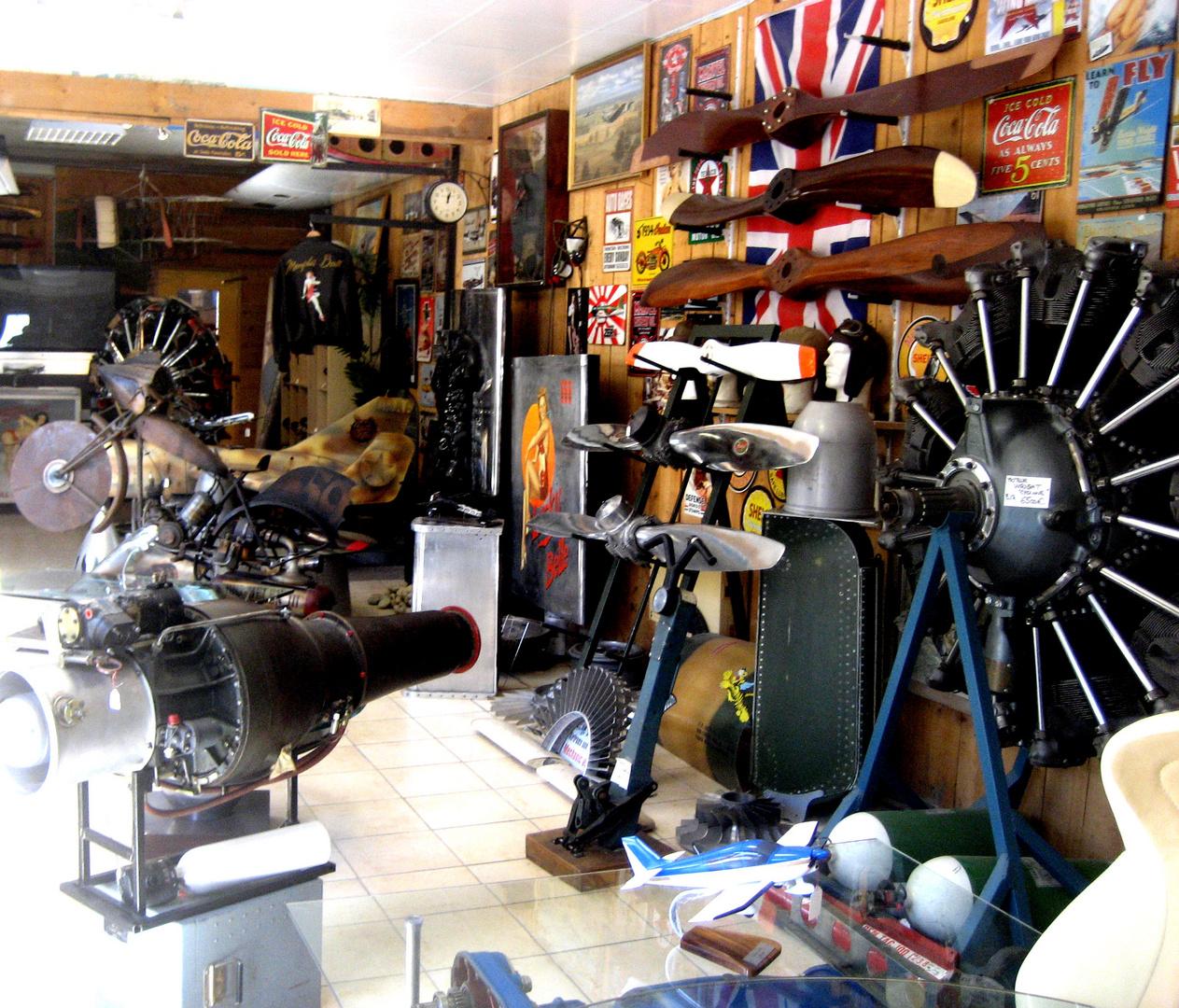 La boutique d'aviation