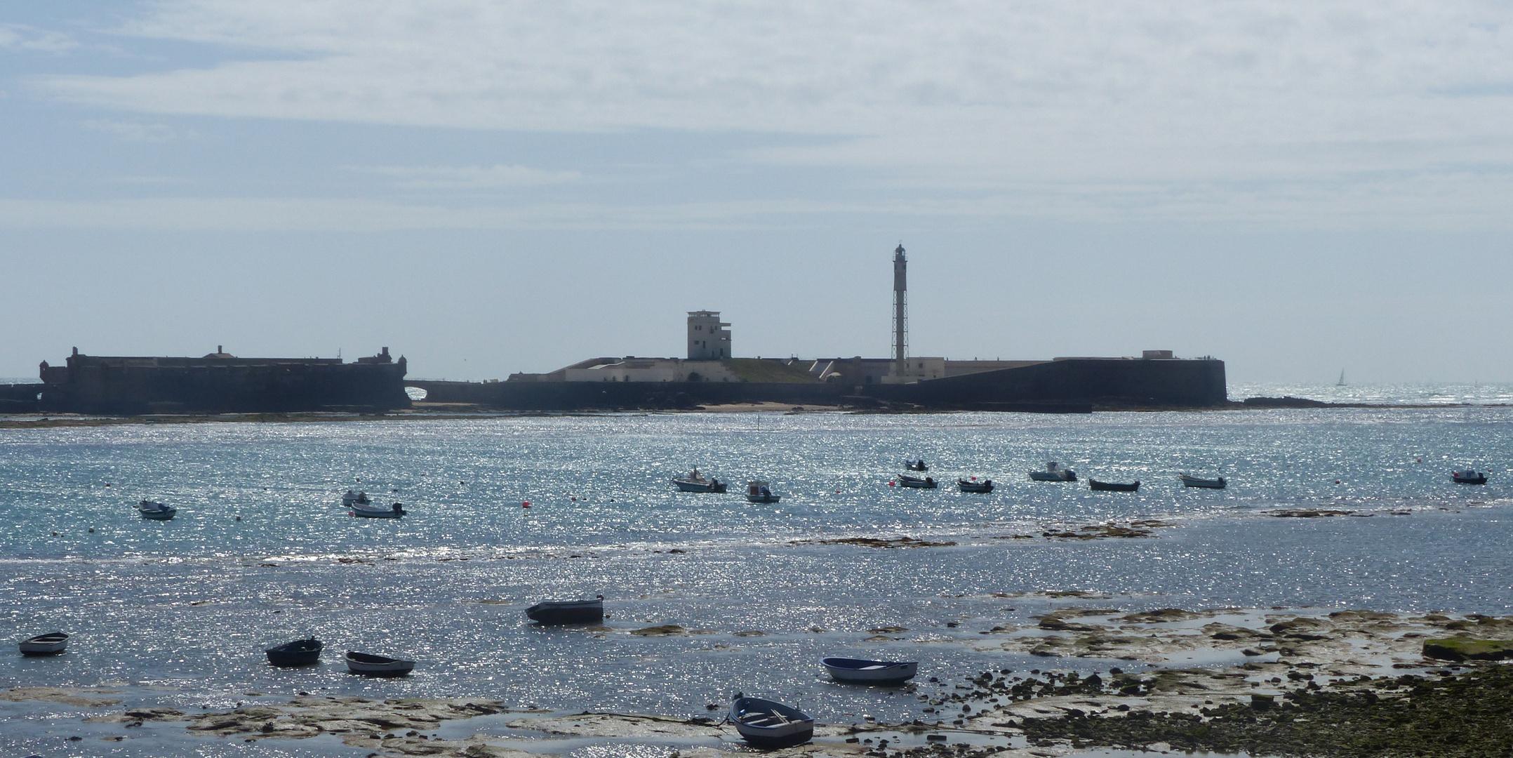 La Caleta de Cádiz como plata
