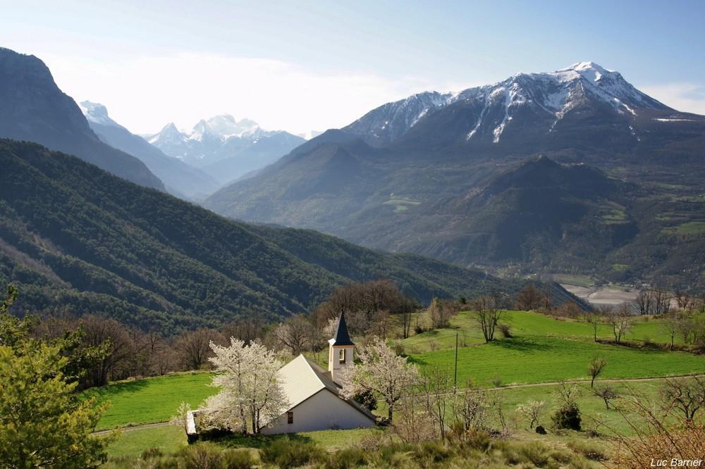 La campagne à la montagne
