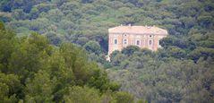 La Campagne Pastré vue du plateau de Marseilleveyre