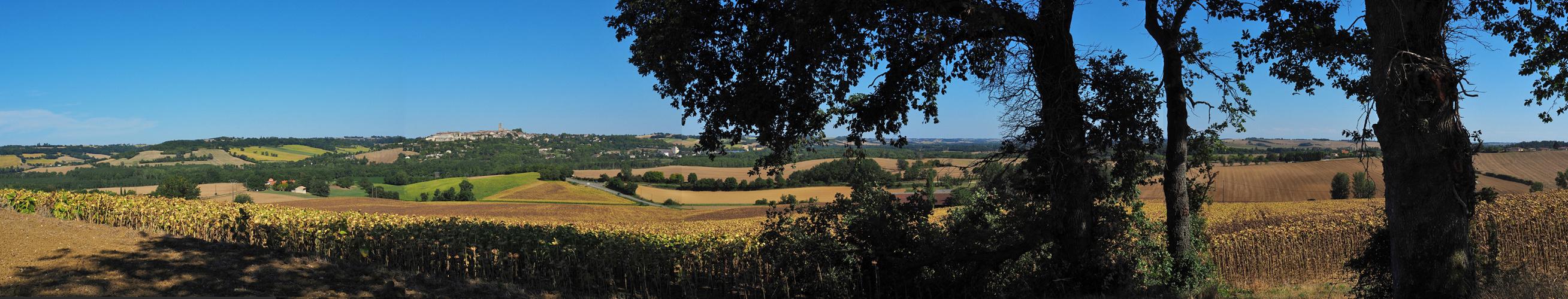 La campagne près de Lectoure  --  Gers