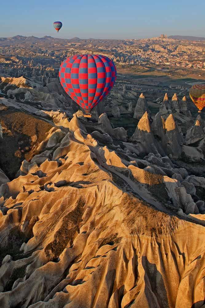 La Cappadoce vue du ciel