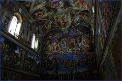 La Cappella Sistina - Das jüngste Gericht (Michelangelo)