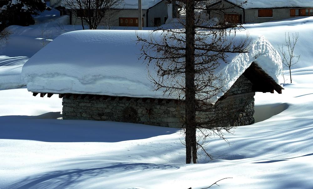 La Casa Nella..........Neve....