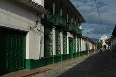 La casa verde , en Santa Fe de Antioquia