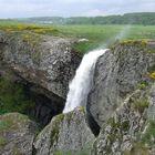 la cascade de Déroc en Aubrac