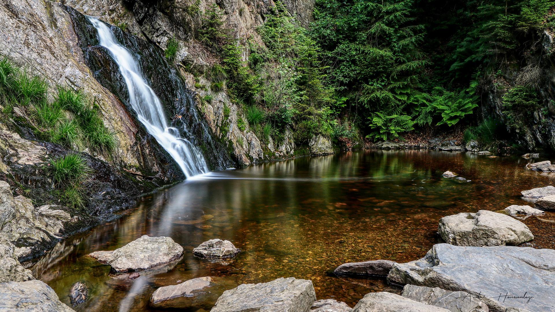 La cascade du Bayehon