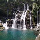 la cascade du grand galet, rivière de Langevin Réunion