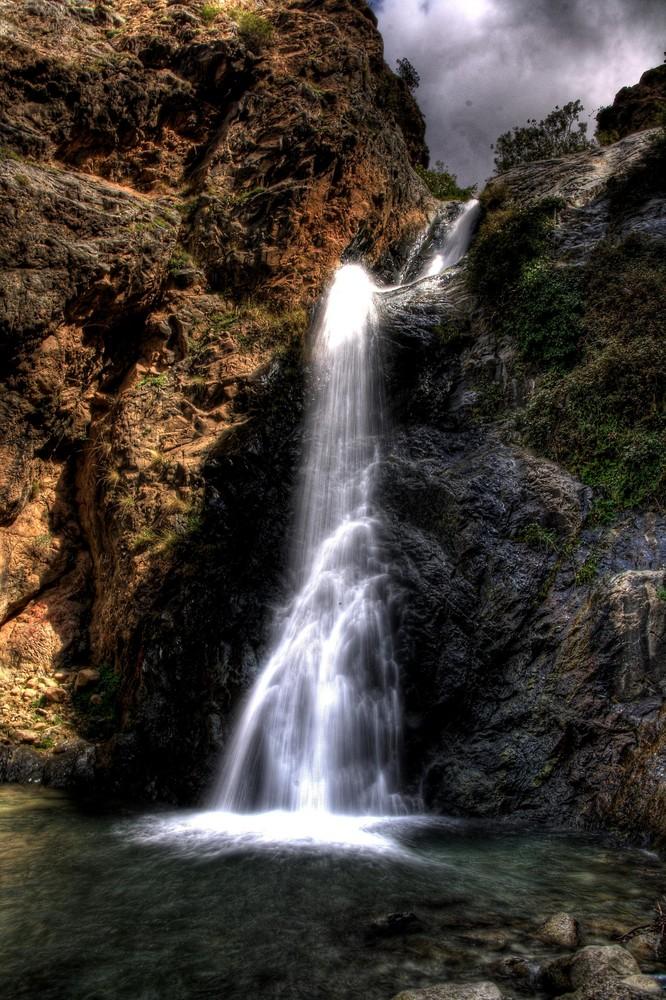 La cascade en Marrakesch