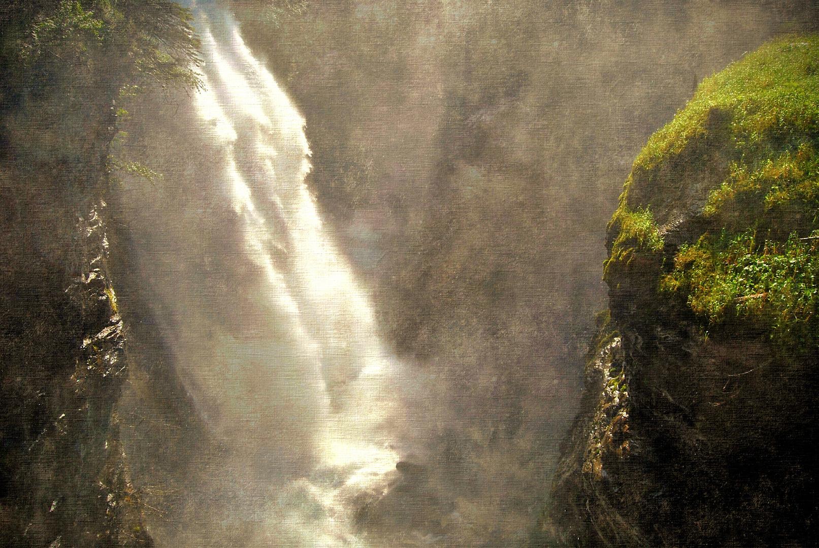La cascata sull'abisso
