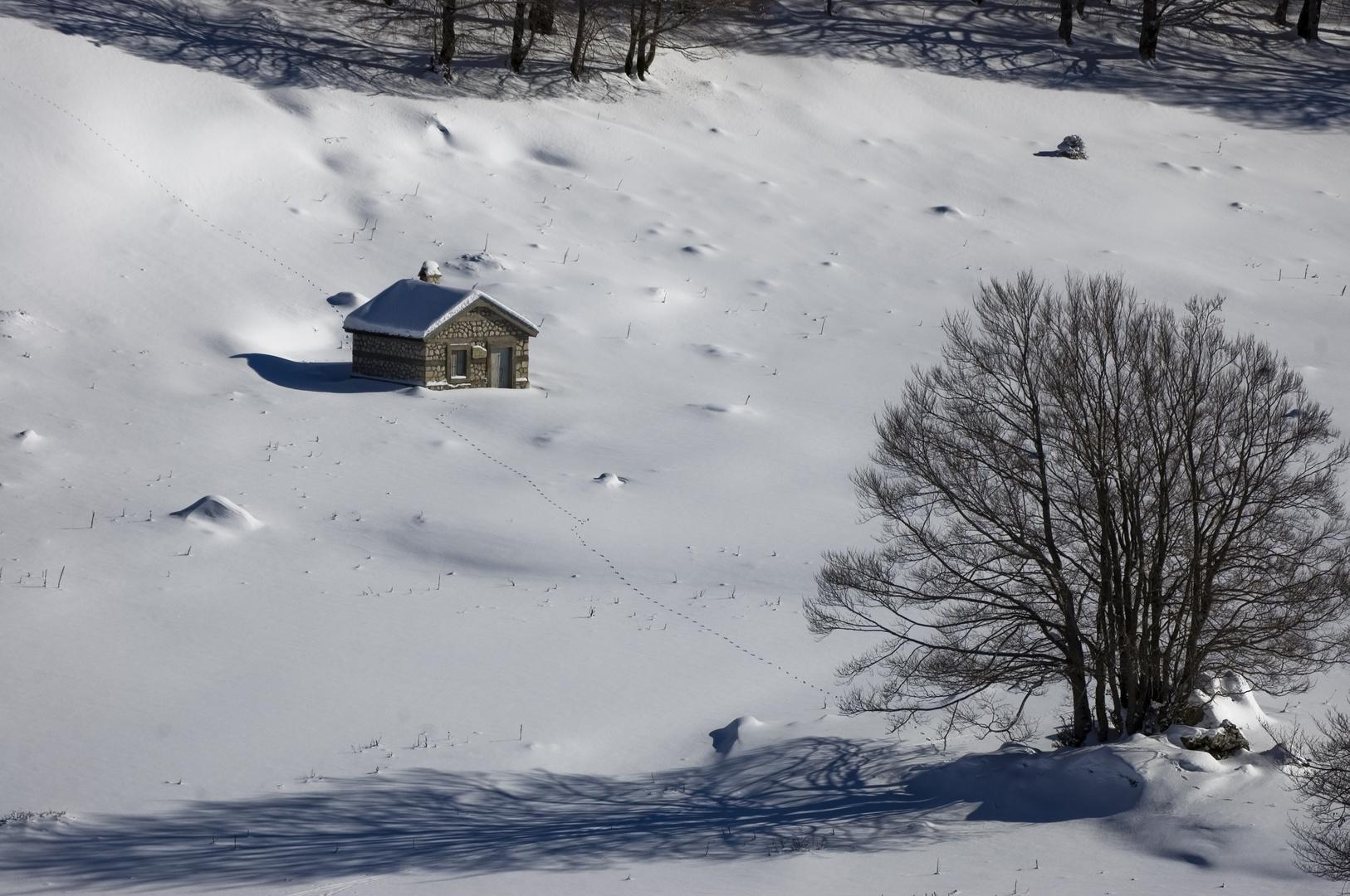 La casetta d'Inverno