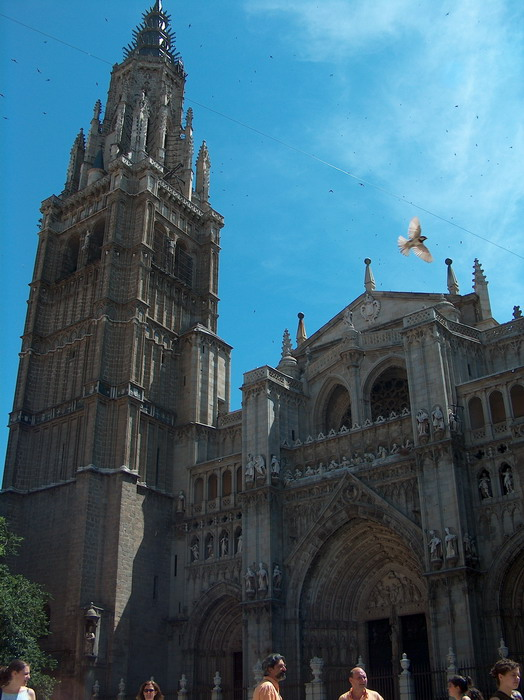 La catedral de Toledo (España) - The Toledo cathedral (Spain)