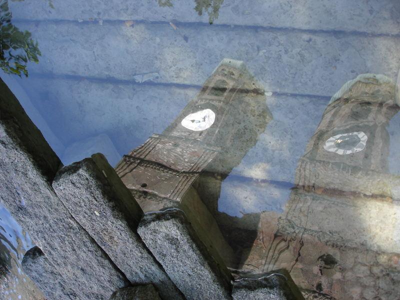 La Catedral reflejada