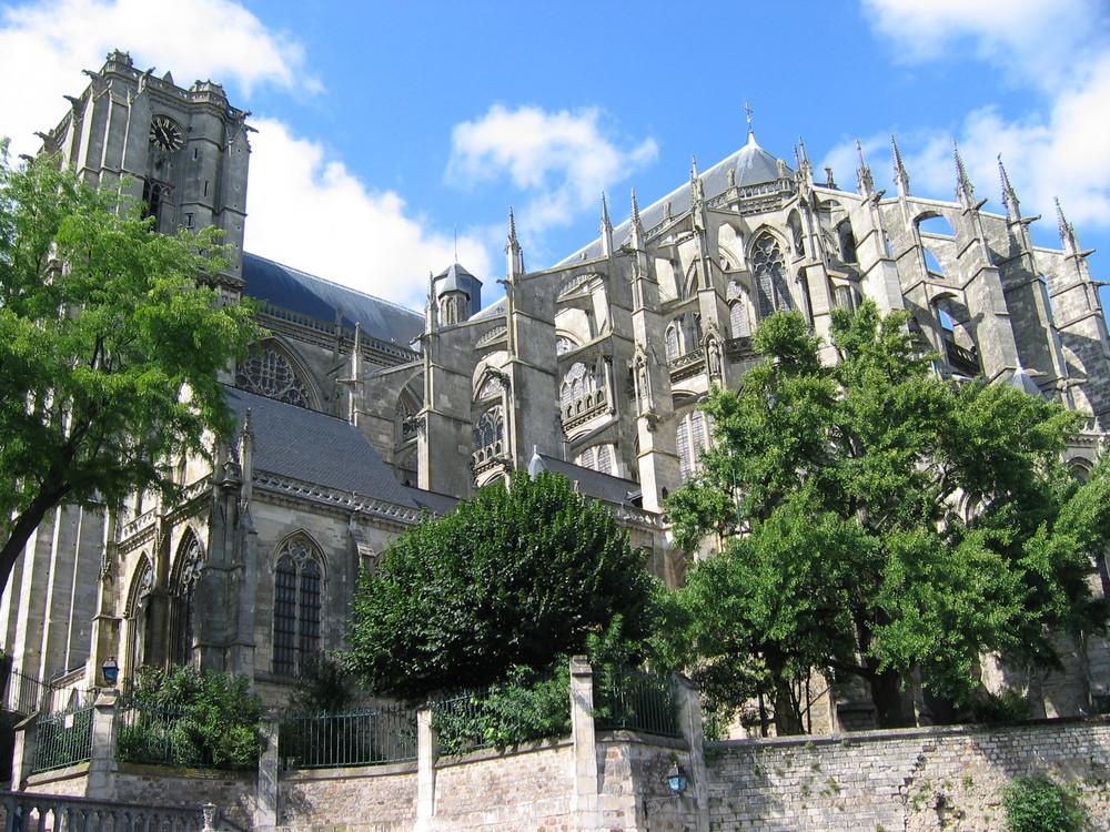 La cathédrale de Le Mans