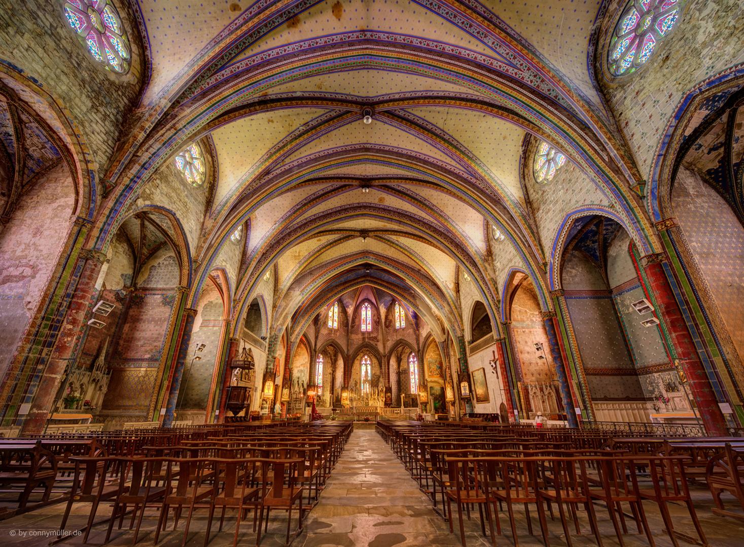 Suchen sie nach geeigneten unterkunftsmöglichkeiten in mirepoix? la cathédrale de Mirepoix Foto & Bild | france, world ...