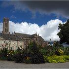 La Cathédrale Saint-Etienne de Limoges vue des jardins de l'Evêché