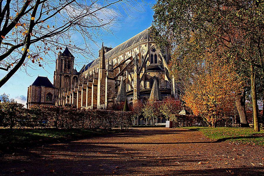 La cathédrale St Etienne en Automne