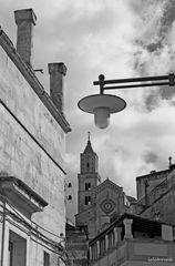 La cattedrale domina i Sassi di Matera