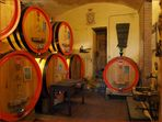 La cave de la Villa Crine à Valpolicella