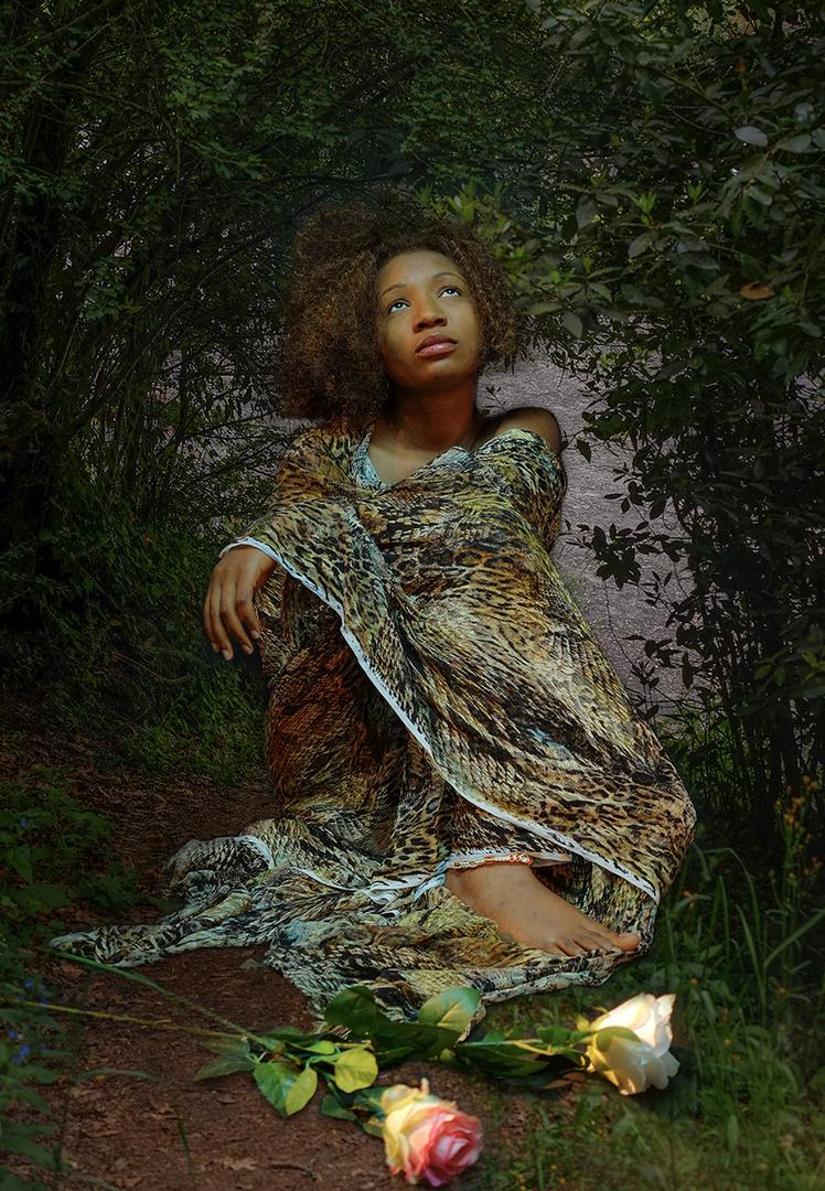 'La chica del bosque'
