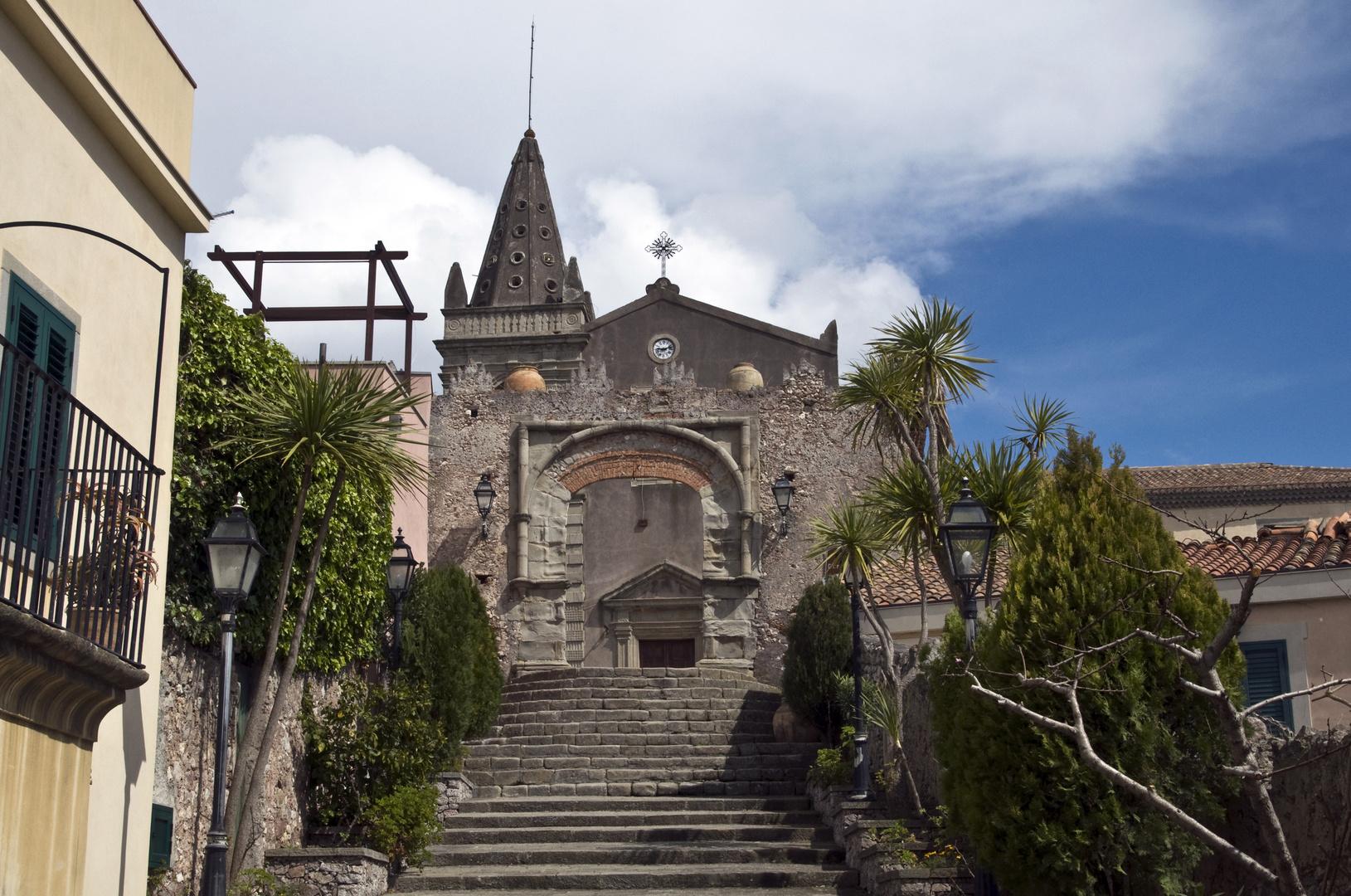 """La Chiesa del Padrino - """" Il Padrino 2 """" - Forza d'Agro - Sicilia"""