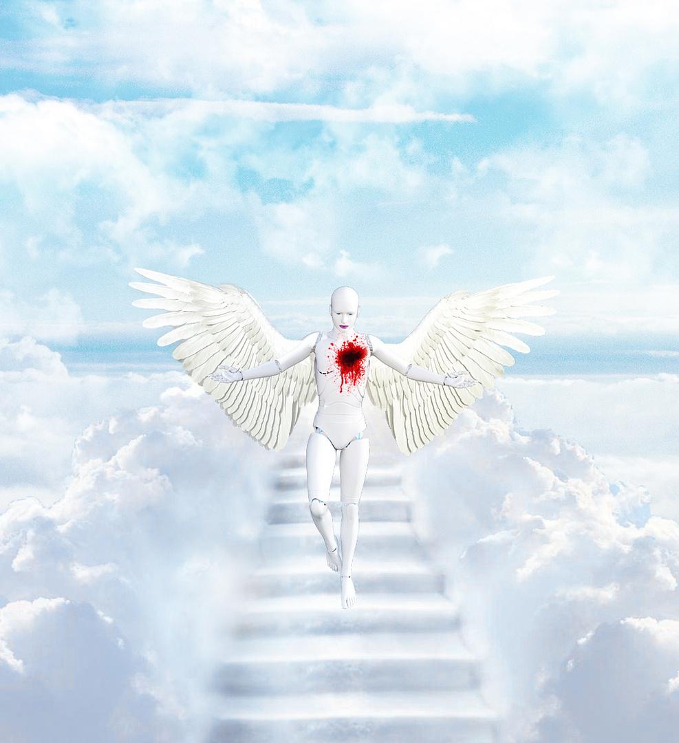 La chute d'un ange.